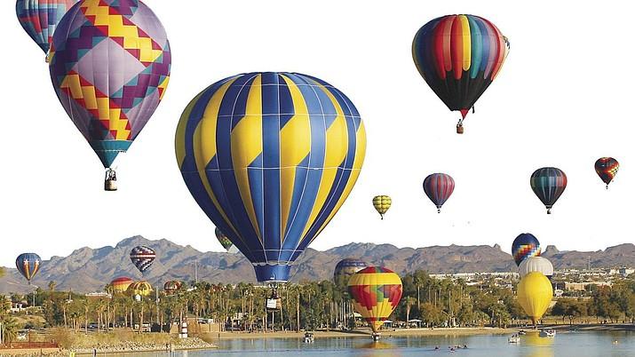 The City of Lake Havasu City is hosting their annual Havasu Balloon Festival & Fair at Lake Havasu State Park, Windsor 4, 699 London Bridge Rd., Lake Havasu City, Thursday through Sunday, Jan. 9 - 12. (Today's News Herald, courtesy, file)