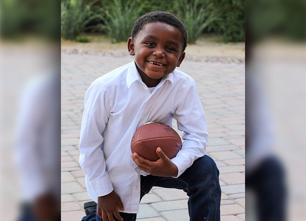 Jayceon has a wonderful ability of making friends with anyone, charming them with his outgoing personality and contagious smile. His favorite sports are football and soccer, and he was even voted MVP on his soccer team. Jayceon loves all different food and currently holds the world record for the fastest time eating a NutriGrain bar! Get to know him at https://www.childrensheartgallery.org/profile/Jayceon and other adoptable children at the childrensheartgallery.org.
