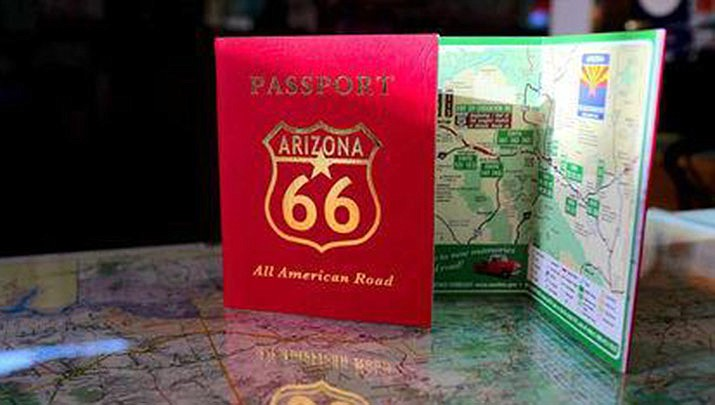 Pick up an Arizona 66 Passport at the Powerhouse Visitor Center, 120 W. Andy Devine Ave. in Kingman and start your adventure through communities and attractions along Arizona's stretch of Route 66. (City of Kingman, Office of Tourism)
