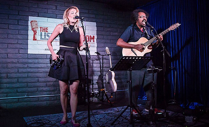 """Celebrate the spirit, songs of Simon & Garfunkel when the indie-folk duo Scarborough returns to Sedona by popular demand with """"The Music of Simon & Garfunkel"""" live concert Thursday, Jan. 16 at 7 p.m. on the Goldenstein Stage at the Mary D. Fisher Theatre in Sedona."""