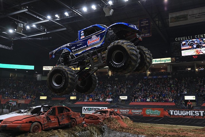 Bigfoot, the original monster truck, and others will be at the Findlay Toyota Center this weekend. (Toughest Monster Truck Tour/Courtesy)