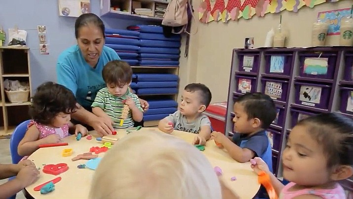 First Things First, Arizona's early childhood health and development agency, is seeking about 150 volunteers for the opportunity to collaborate with other dedicated community members in local communities across Arizona. To volunteer, visit https://www.firstthingsfirst.org/serve-az-community. (First Things First)