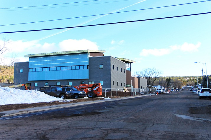 The new Williams health clinic is expected to open in spring 2020. (Wendy Howell/WGCN)