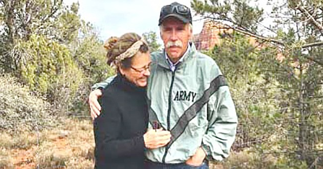 Kevin William O'Neil and his wife, Diane.