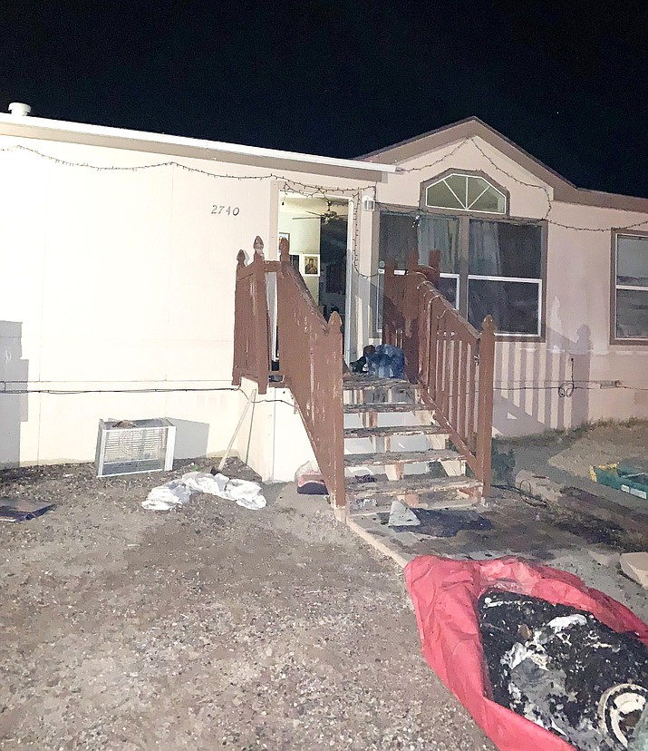 Copper Canyon Fire and Medical responded to a home fire in Rimrock at 2:42 a.m. Wednesday. Although nobody was injured, the occupants were displaced from the home, Copper Canyon Battalion Chief Eric Strauss stated Wednesday in a press release. Courtesy photo