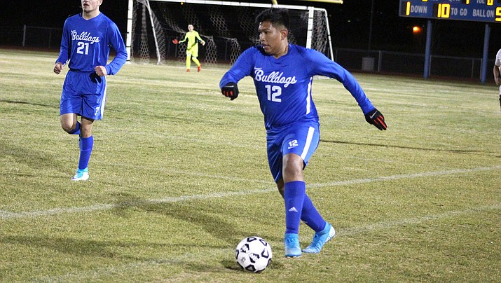 Marcos Silva scored two goals Tuesday as Kingman High rallied for a 3-2 win at Paradise Honors. (Miner file photo)