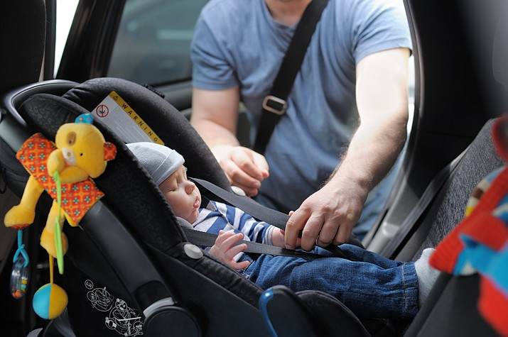 Yavapai Regional Medical Center is offering free car seat safety education programs to caregivers in Yavapai County. For more information or to schedule an appointment, please call the Family Resource Center at 928-771-5651. (Courier file photo)