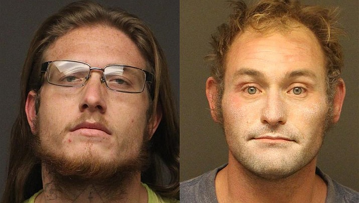 Benjamin Clark Dann and Alfred Martin Talavera (MCSO photo)