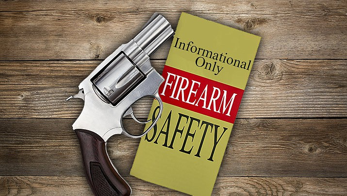 """A """"Firearm Safety: Informational Only"""" class is being held at the Prescott Valley Public Library, 7401 E. Skoog Blvd., 3rd Floor Crystal Room from 6 to 7:30 p.m. on Monday, Jan. 13. (Monica Brabant/WNI Photo Illustration)"""