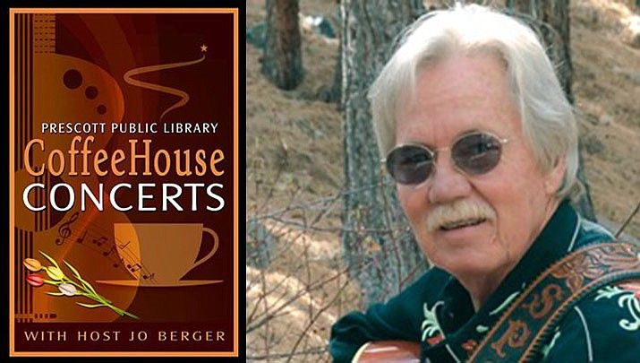 """Come enjoy a free cup of coffee and listen to Texas singer/songwriter Steve Spurgin at a """"Coffeehouse Concert"""" at Prescott Public Library, 215 E. Goodwin St. from 2 to 3:30 p.m. on Sunday, Jan. 12. (Prescott Public Library)"""