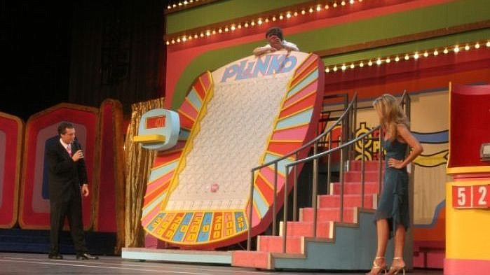 Plinko is just one of the games featured on The Price is Right Live. (Courtesy)