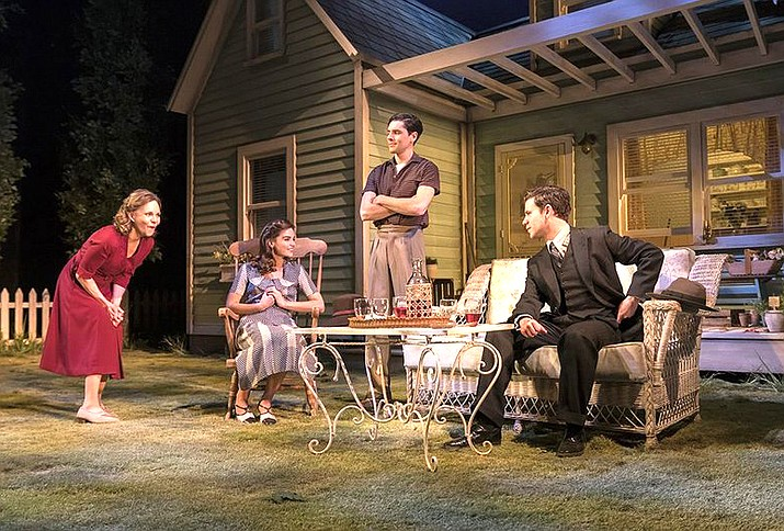 "Broadcast live from The Old Vic in London, Academy Award-winner Sally Field (Steel Magnolias, Brothers & Sisters) and Bill Pullman (The Sinner, Independence Day) star in Arthur Miller's blistering drama ""All My Sons""."