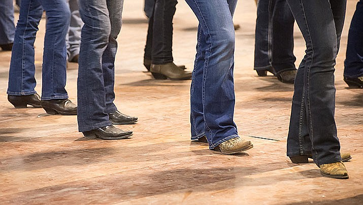 """""""Intermediate Line Dance"""" classes are offered every Tuesday at 4 p.m. at the Adult Center of Prescott, 1280 E. Rosser St. (Stock image)"""