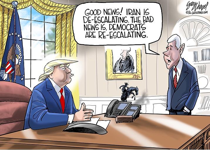 Editorial cartoon (1): Jan. 11, 2020