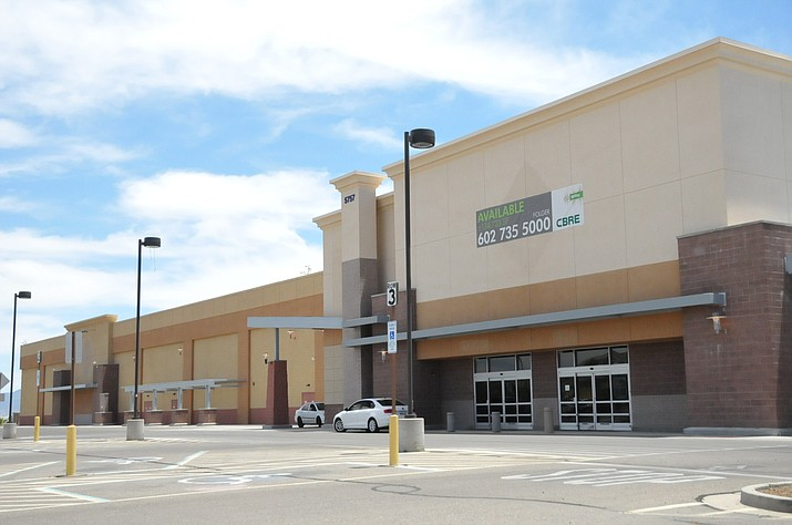 The former Sam's Club building, 5757 E. Highway 69, on the southeast side of Prescott Valley's Crossroads Center has been vacant for two years. (Doug Cook/Courier, file)