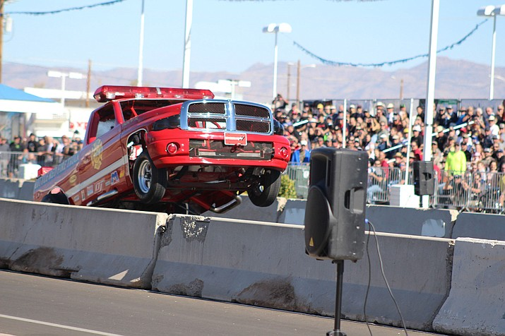 The Route 66 Kingman Street Drags drew a crowd to town in 2019. Route 66 will likely be part of the city's attempt to rebrand itself for marketing to tourists and potential residents and businesses. (Miner file photo)