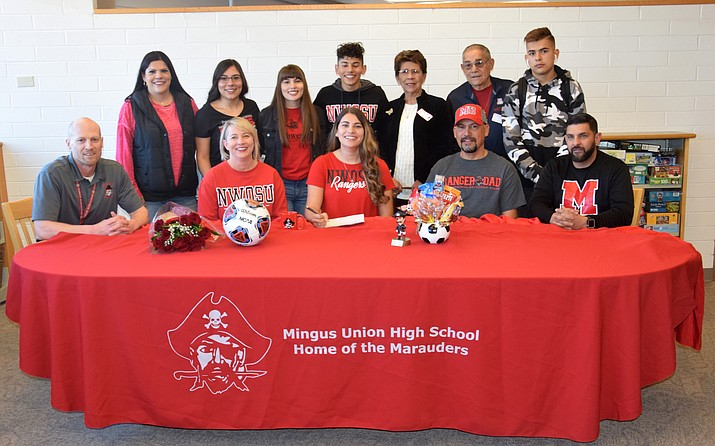 Mingus senior soccer player Felicia Bueno signed with Northwestern Oklahoma State on Friday. VVN/James Kelley