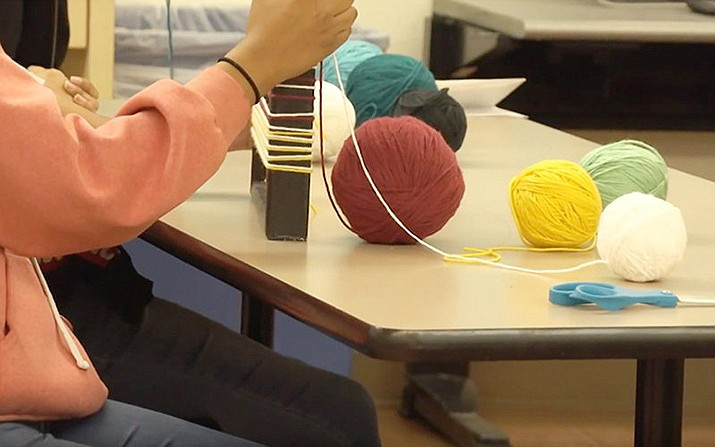 Some Arizona schools are working to preserve Native American culture by spending classroom time on disappearing languages and cultural traditions, such as creating crafts. Cronkite News photo