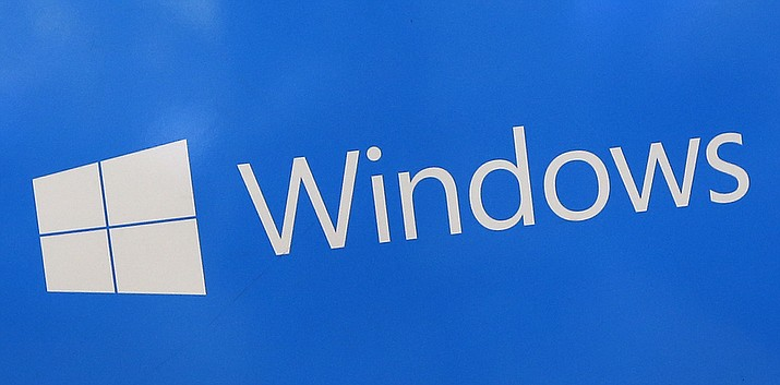 This Aug. 7, 2017, file photo shows a Microsoft Widows sign on display at a store in Hialeah, Fla. The National Security Agency has discovered a major security flaw in Microsoft's Windows operating system. Microsoft says the NSA notified the company about it. A fix was made available Tuesday, Jan. 14, 2020. (AP file photo)