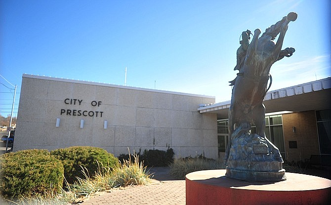 Prescott City Hall (Courier file)