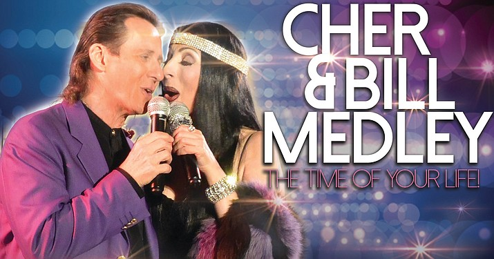"""Come and see """"Cher & Bill Medley Live"""" at the Elks Theatre Performing Arts Center, 117 E. Gurley St. in Prescott at 7 p.m. on Friday, Jan. 17. (Elks Theatre Performing Arts Center)"""