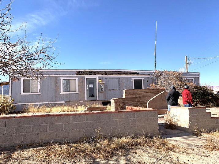 The building is scheduled to be demolished in January. (Photo/Kayenta Township)