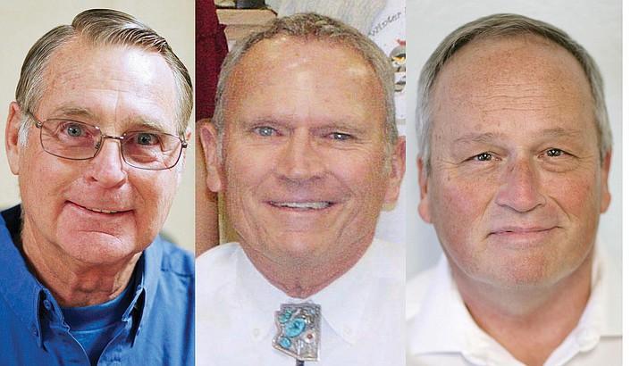 From left: Bruce George, Joe Butner, Bill LeBeau. VVN/Bill Helm