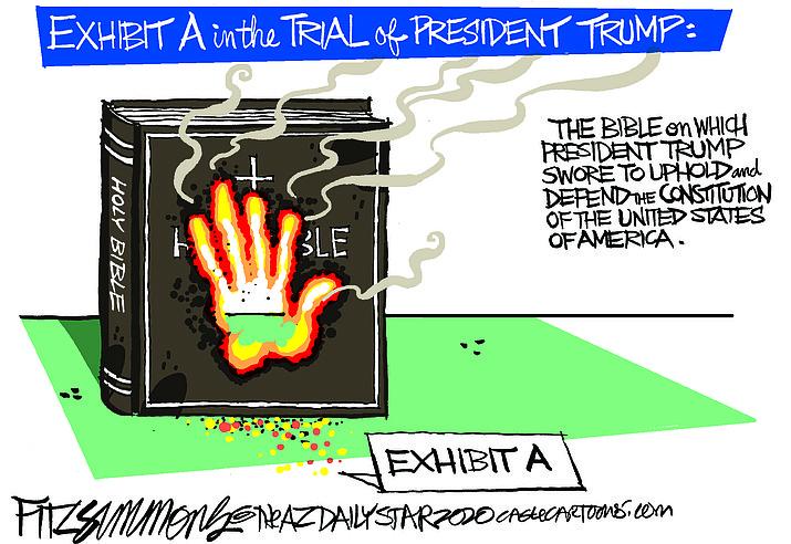 Editorial cartoon (1): Jan. 16, 2020