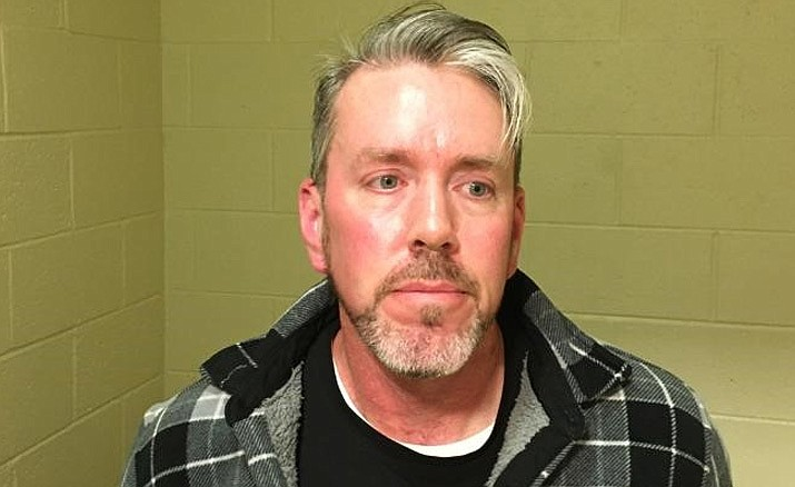 Thomas Kuntze, 49, was arrested by the Camp Verde Marshal's Office on charges of luring a minor for sexual exploitation. (Camp Verde Marshal's Office/Courtesy)
