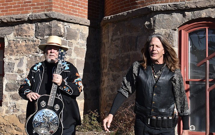 Christian Berry and Tall Paul, the Electric Swamp Poets, will perform at the Elks Theatre and Performing Arts Center. (DoubleAPhotography&Co/Courtesy)