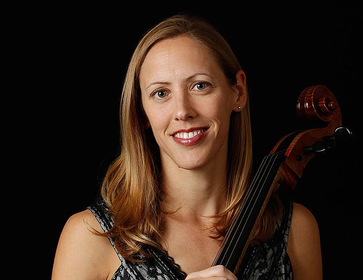 """Melita Hunsinger, principal cellist for the Phoenix Symphony, will perform Schumann's """"Cello Concerto in A Minor"""" at the group's upcoming performance Sunday, Jan. 19. (Sue Bray/Courtesy)"""