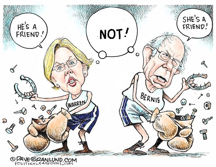 Editorial cartoon (1): Jan. 17, 2020