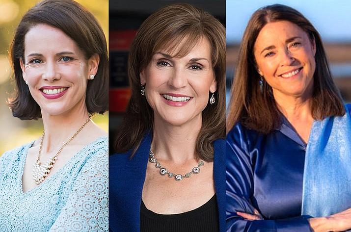 From left: Beatriz Williams, Karen-White, Mary Alice Monroe.
