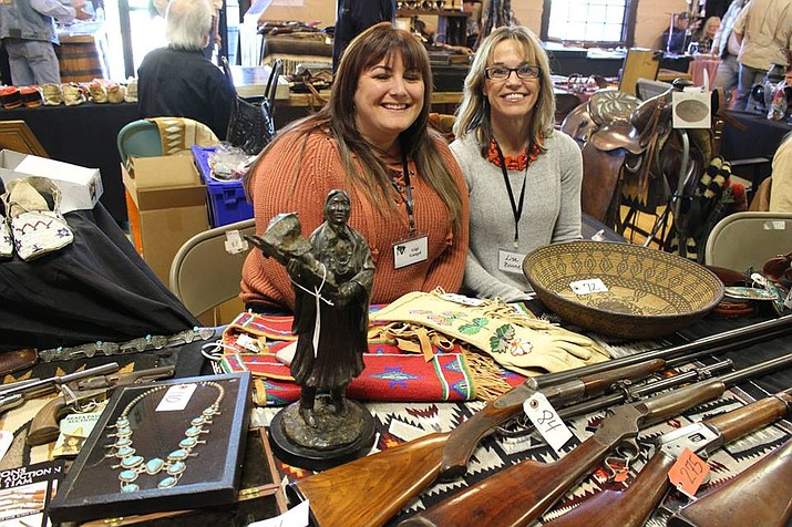 Find western antiques and collectibles at the 14th annual Cowboy Collectors Gathering Antique Show in the Mackin and Freeman buildings at the Prescott Rodeo Grounds, 840 Rodeo Dr. from 9 a.m. to 4 p.m. on Wednesday, Jan. 22. (Courtesy, file)