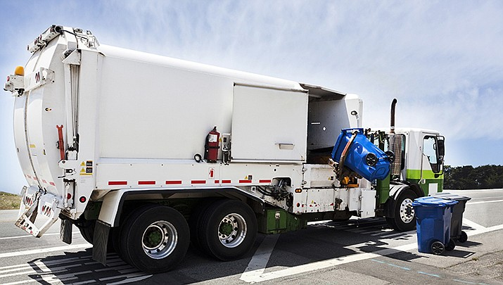 The Kingman Municipal Utilities Commission is conducting a study of the city's garbage rates. (Adobe image)