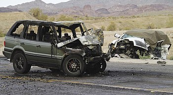 2 dead in State Route 95 collision photo