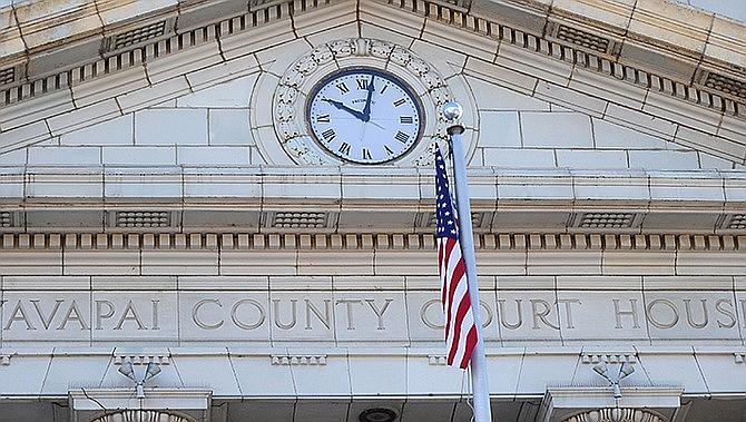 Yavapai County Courthouse in Prescott, Arizona. (Courier, file)