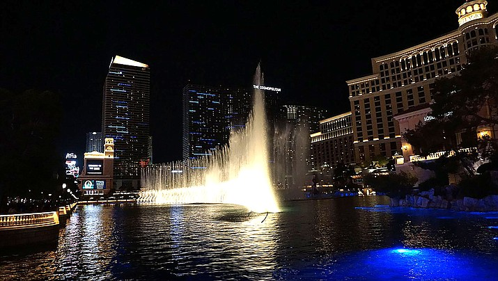The NFL will have a red carpet area in Las Vegas constructed beginning April 8 at the fountains of Bellagio. (Photo by Matt Kieffer, CC by 2.0, https://bit.ly/2GecBeB)