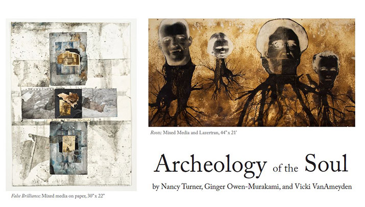 Attend the opening reception, 'Archeology of the Soul', Friday, Jan. 24