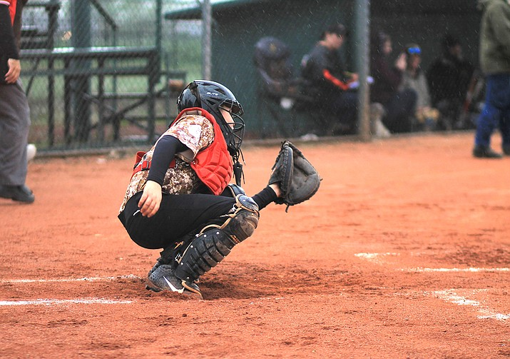 Williams Little League Majors players battle the weather in May 2019. Registration has opened for the 2020 Little League season. (Wendy Howell/WGCN)