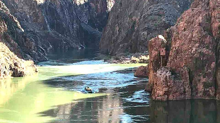 Going for a record: Oarsmen attempt to break rafting speed record down the Colorado River