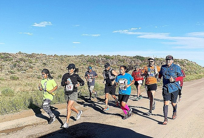 The Navajo Nation Special Diabetes Program kicked off its annual Running for a Stronger and Healthier Navajo Nation July 8, 2019, in Ramah, New Mexico. The program hosts runs across the Navajo Nation to help promote healthy lifestyles, prevent diabetes and bring awareness to obesity, cancer and chronic diseases. (Photo/Office of the Navajo Nation President and Vice President)