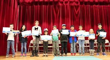 Spelling Bee champs: Dlyan Pahl wins Grand Canyon bee photo