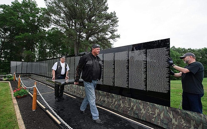The Moving Wall will be coming to Williams June 4-8. (The Moving Wall/Courtesy)