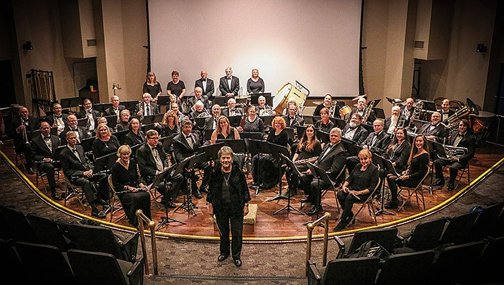 The Central Arizona  Concert Band will perform at Embry-Riddle University, 3700 Willow Creek Rd. in Prescott from 3 to 5 p.m. on Sunday, Jan. 26. (Courtesy, file)
