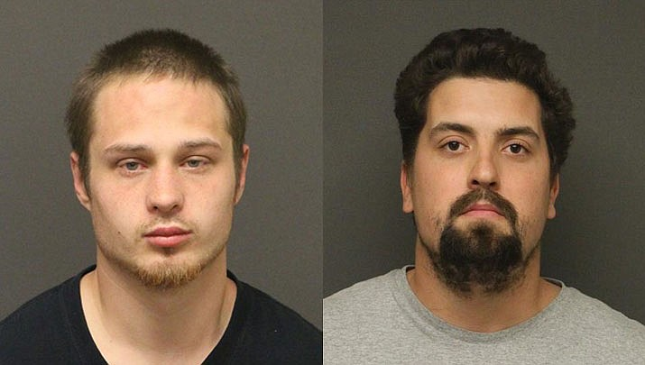 Justin Victor Storm and Robert Angel Flores  (MCSO photos)