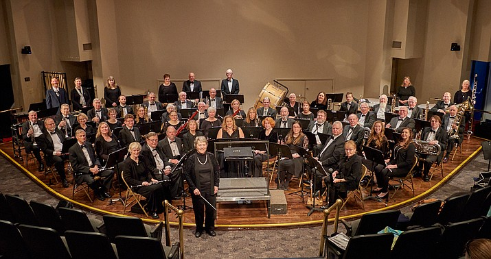 The Central Arizona Concert Band is set for a performance at the Davis Learning Center on the campus of Embry-Riddle Aeronautical University Sunday, Jan. 26. (Joe Cotten/Courtesy)