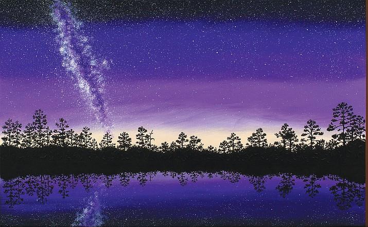 Celstial Reflection by Bernie Lopez.