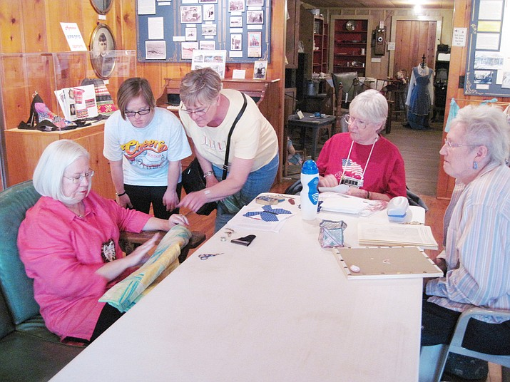 Members of the Red Rock Quilters will be the featured guests for Monday at the Museum from 11 a.m. to 1 p.m. Monday, Feb. 3.