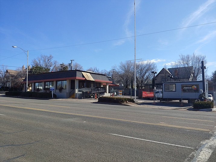 BoSa Donuts, a popular, Arizona-based chain, will take over the former Jack in the Box fast-food restaurant on East Gurley Street in Prescott after the building has been re-roofed and renovated by local contractors. (Doug Cook/Courier)